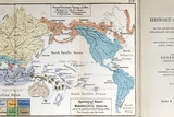 Ernst Haeckel Map Lemuria Human Origins Photographic Print by Paul Stewart