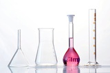 Chemistry Glass-ware Photographic Print by Sigrid Gombert