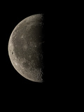 Waning Half Moon Photographic Print by Eckhard Slawik