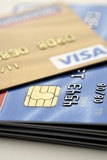 Credit Cards Photographic Print by Jon Stokes