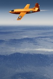 Bell X-1 Supersonic Aircraft Poster by Detlev Van Ravenswaay
