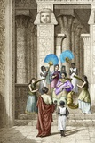 Euclid And Ptolemy Soter, King of Egypt Photographic Print by Sheila Terry