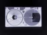 Video Cassette, Simulated X-ray Print by Mark Sykes