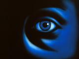 Abstract Illustration of the Human Eye, At Night Photographic Print by David Gifford