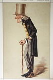 1873 Richard Owen 'Old Bones' Vanity Fair Photographic Print by Paul Stewart