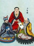 Chinese Religious Leaders Photographic Print by Sheila Terry