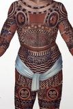 1827 Nukahiva Marquesas Tattooed Man Photographic Print by Paul Stewart