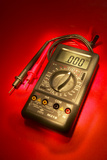 Digital Multimeter Photographic Print by Mark Sykes