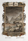 1731 Johann Scheuchzer Noah's Ark Flood Photographic Print by Paul Stewart