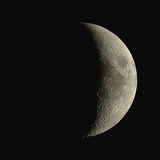 Waxing Crescent Moon Papier Photo par Eckhard Slawik