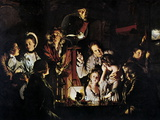 The Airpump by Joseph Wright Prints by Sheila Terry