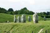 Avebury Henge, Wiltshire, UK Posters by Sheila Terry