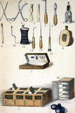 19th Century Kit for Collecting Insects Photographic Print by Paul Stewart