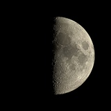 First Quarter Moon Photographic Print by Eckhard Slawik