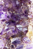 Amethyst Crystals Photographic Print by Mark Sykes
