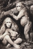 1894 Haeckel Pithecanthropus Ape Man Crop Photo by Paul Stewart
