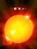 Sun And Its Planets Reproduction photographique par Detlev Van Ravenswaay