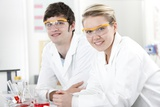 Pupils In a Science Lesson Photographic Print