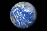 Earth From Space, Artwork Photo by Detlev Van Ravenswaay
