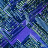 Integrated Circuit Photographic Print