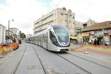 Jerusalem Mass Transport Light Train Photographic Print