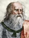Plato (c.428 BC-c.347 BC) Print