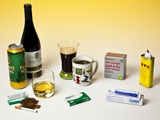 Products Containing Drugs Photographic Print