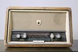Retro Hi-Fi Minerphon Radio Receiver Photographic Print