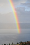 Rainbow Over Sea of Galilee Posters