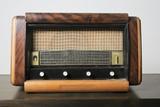 Retro Schneider Radio Receiver Photographic Print