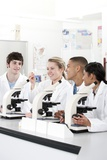 Biology Lesson Photographic Print