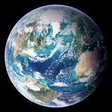 Blue Marble Image of Earth (2005) Papier Photo