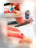Blood Test, Conceptual Artwork Photographic Print by Miriam Maslo