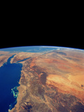 Red Sea From Space Photographic Print by  NASA