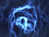 Electrical Effect, Computer Artwork Premium Photographic Print by David Mack