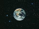 The Earth Seen From Apollo 17 Papier Photo par  NASA