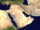 Middle East Prints by  NASA