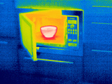 Microwave Oven, Thermogram Posters by Tony McConnell