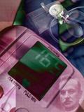Blood Pressure Equipment, Conceptual Art Photographic Print by Miriam Maslo