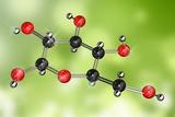 Glucose Sugar Molecule Posters by Miriam Maslo
