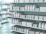 Generic Medicines on Shelves, Artwork Prints by David Mack