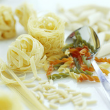 Assorted Pasta Photographic Print by David Munns