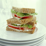 Ham Salad Sandwich Photographic Print by David Munns