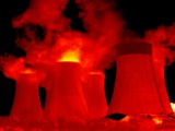 Cooling Towers, Thermogram Premium Photographic Print by Tony McConnell