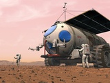 Mars Exploration, Artwork Print by Walter Myers