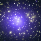 Abell 1689 Galaxy Cluster, X-ray Image Photographic Print by  NASA