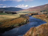 The River Helmsdale, Scotland Photographic Print by Michael Marten