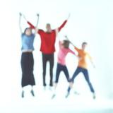 Leaping Figures Lámina fotográfica por Tony McConnell