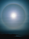 Halo Around the Sun Photographic Print by Michael Marten