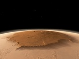 Olympus Mons, Mars, Artwork Photographic Print by Walter Myers